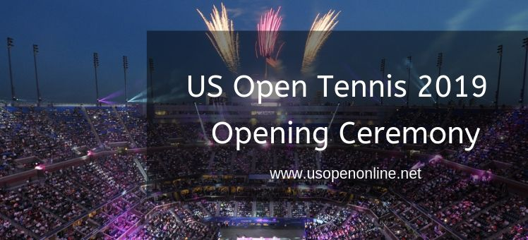 US Open Tennis Opening Ceremony Live Stream