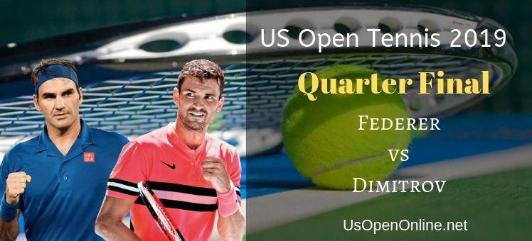 Federer VS Dimitrov Tennis Stream Live