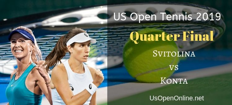 Svitolina VS Konta Tennis Live Stream