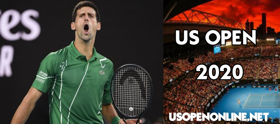 Djokovic play for men singles Draw in US Open 2020