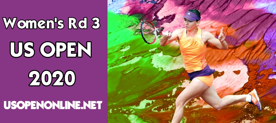 2018 US Open Tennis Women Singles Rd 3 Live Online
