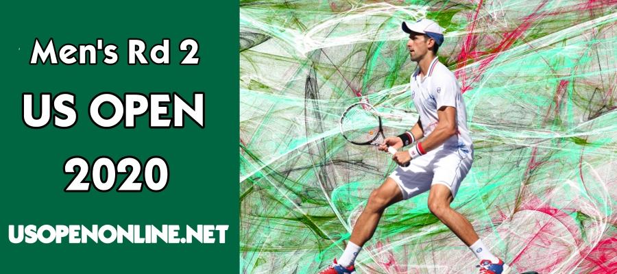 Live Men Singles 2nd Round 2018 US Open Online