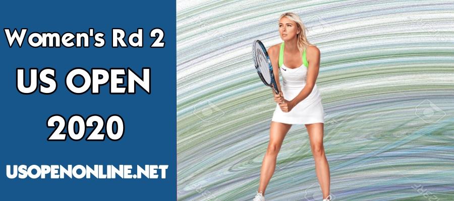 US Open 2018 Women Singles Rd 2 Live Stream