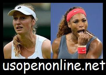 Live E. Makarova vs S. Williams Online