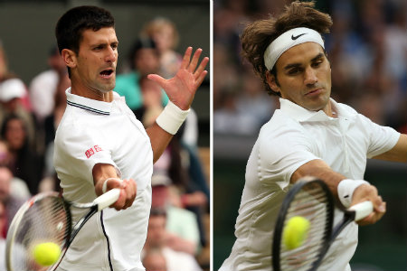 R Federer vs N Djokovic Final US Open 2015