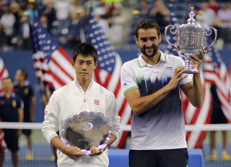 Watch K. Nishikori vs M. Cilic Online