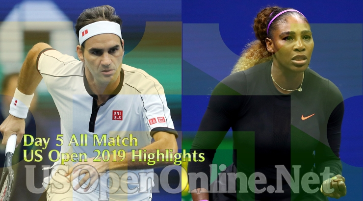 US Open Tennis 2019 Day 5 Complete Match Highlights Video