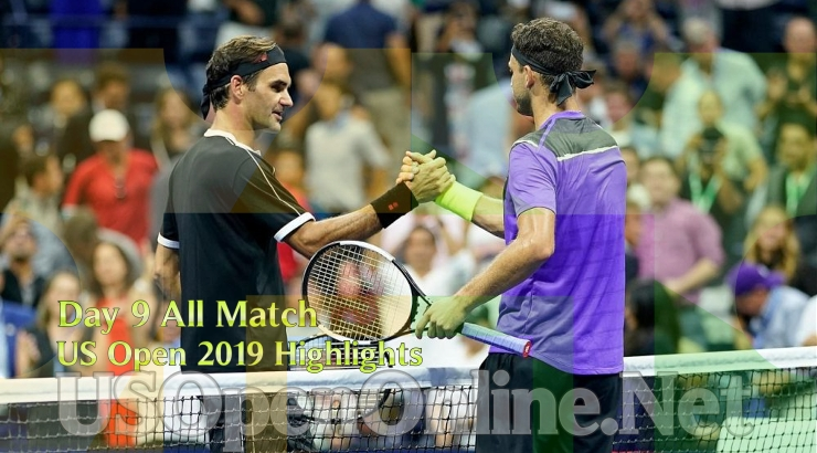 US Open Tennis 2019 Day 9 Complete Match Highlights Video