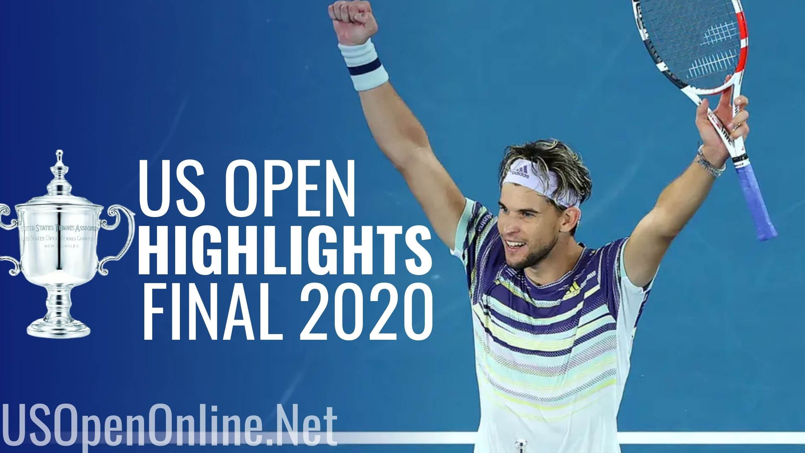 Zverev Vs Thiem Final Highlights US Open 2020