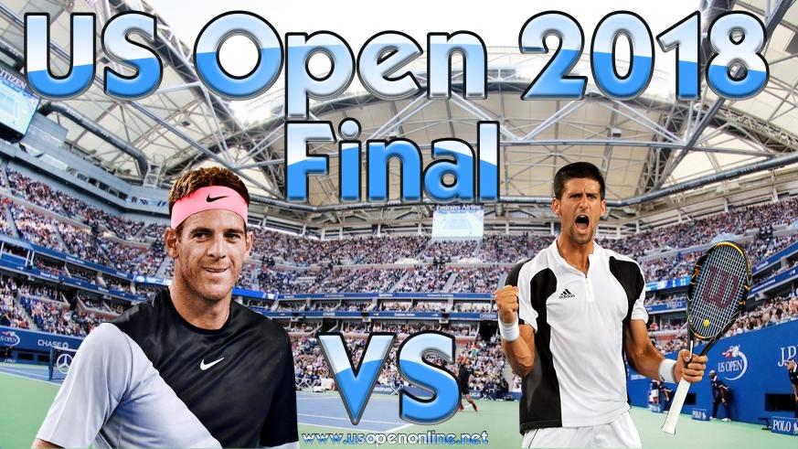 J. del Potro vs N. Djokovic US Open Final 2018 Live