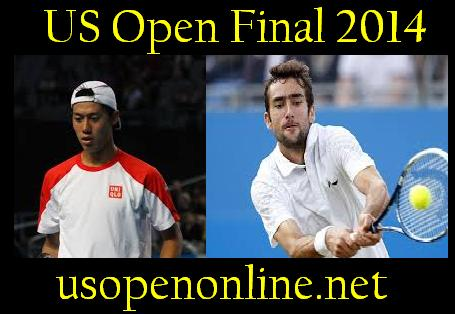 K. Nishikori vs M. Cilic final 2014
