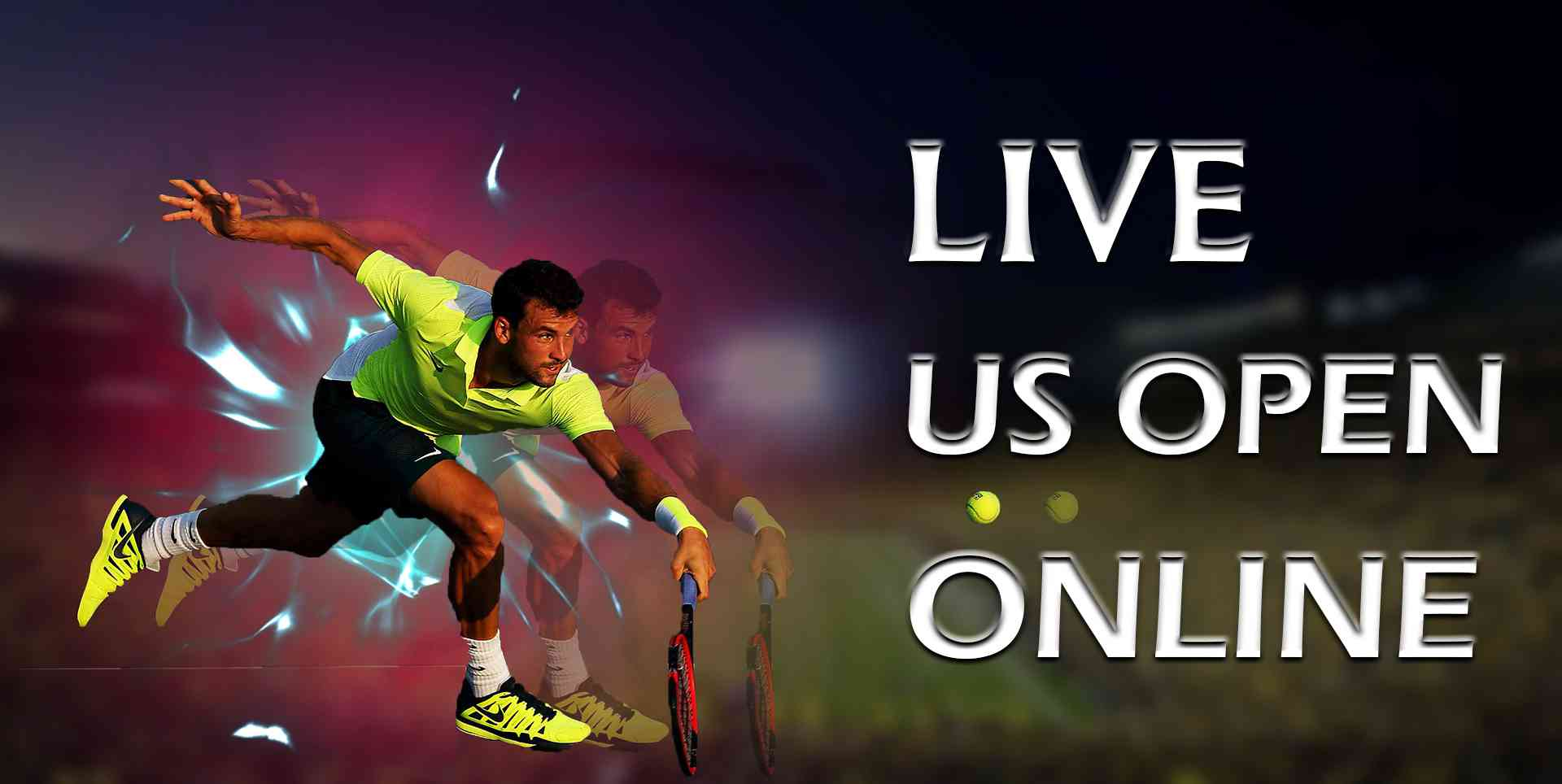 Live US Open Tennis 2018 Online slider