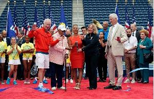 US Open Tennis 2018 Louis Armstrong Ceremony